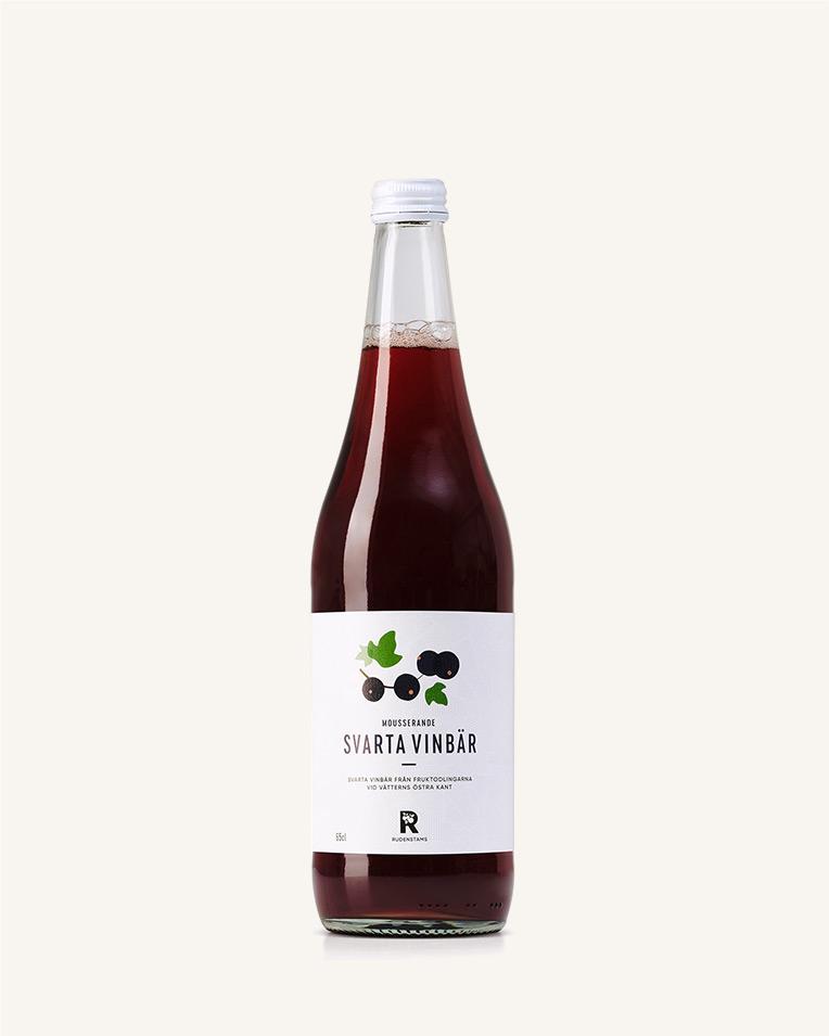 Svartavinbär Mousserande 65 cl
